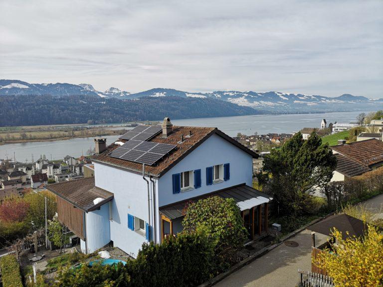 Aussicht Zürichsee